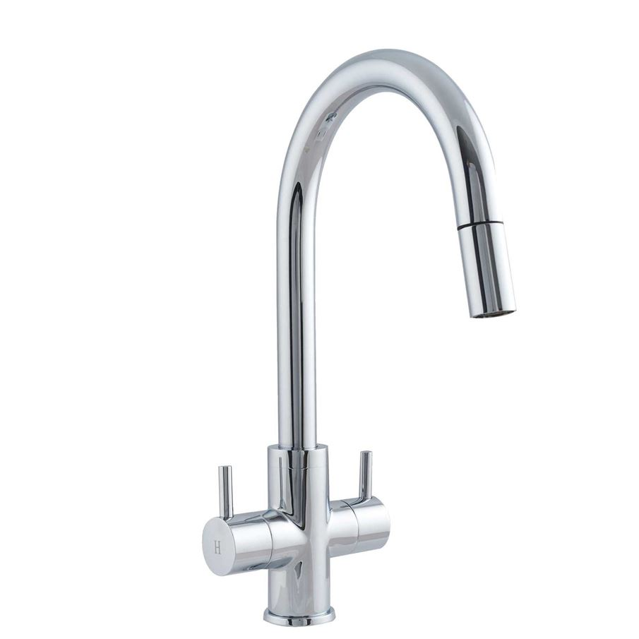 Astracast  Shannon Tap With Pull Out Nozzle In Chrome TP0421 Kitchen Sinks Taps