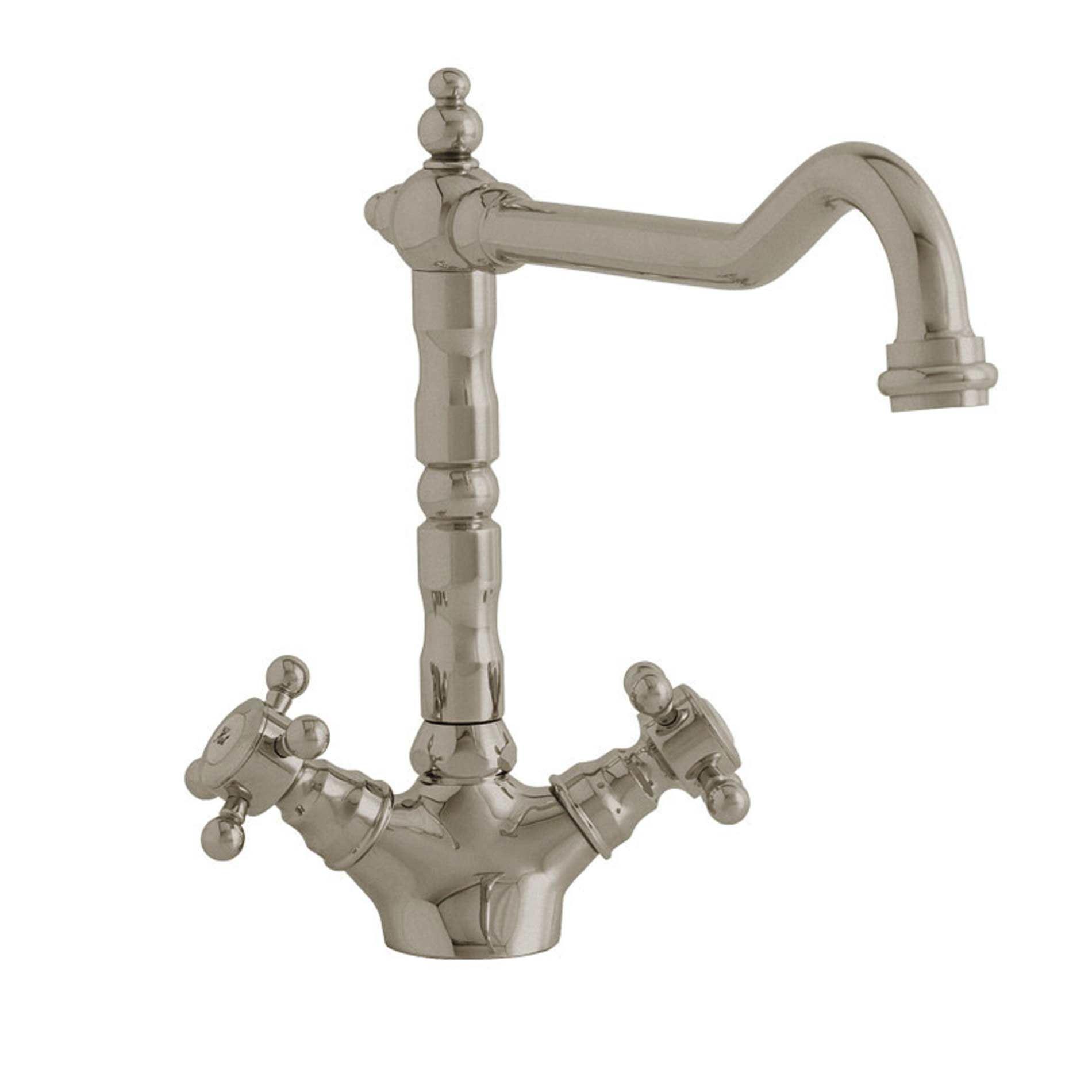 Astracast: Camargue Monobloc Nickel Tap TP0035 - Kitchen Sinks & Taps