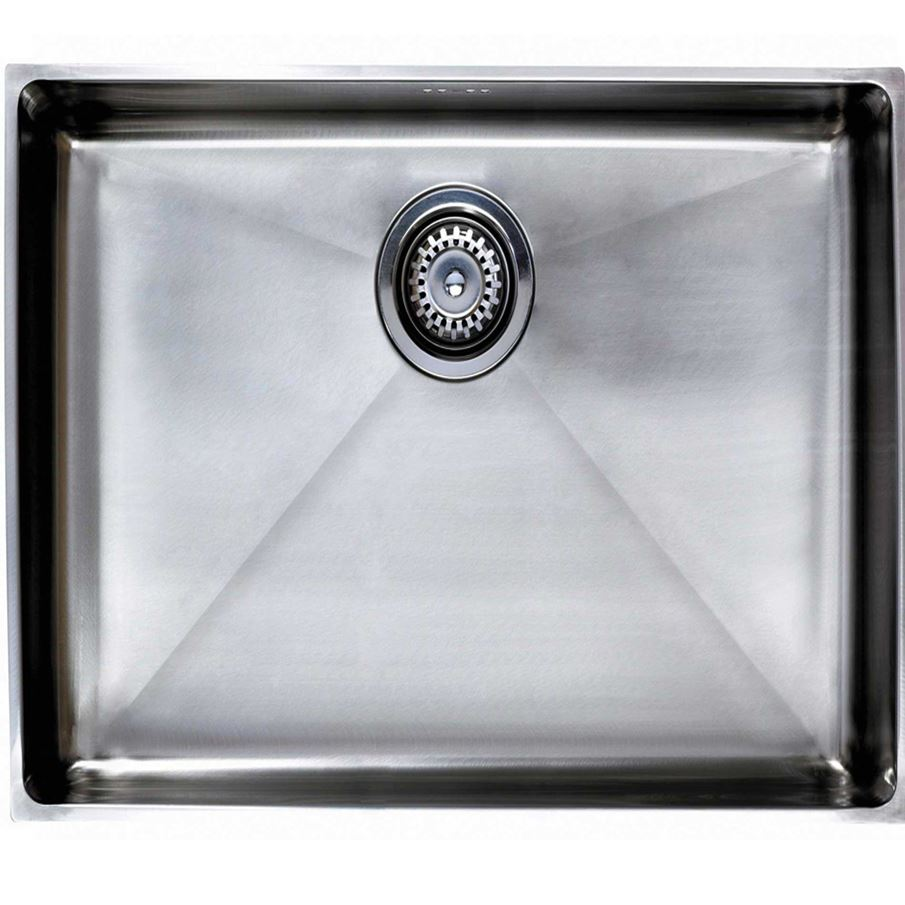 Large Stainless Steel Sinks Uk : ... Sinks & Taps - Astracast: Onyx Extra Large Bowl 4070 Stainless Steel