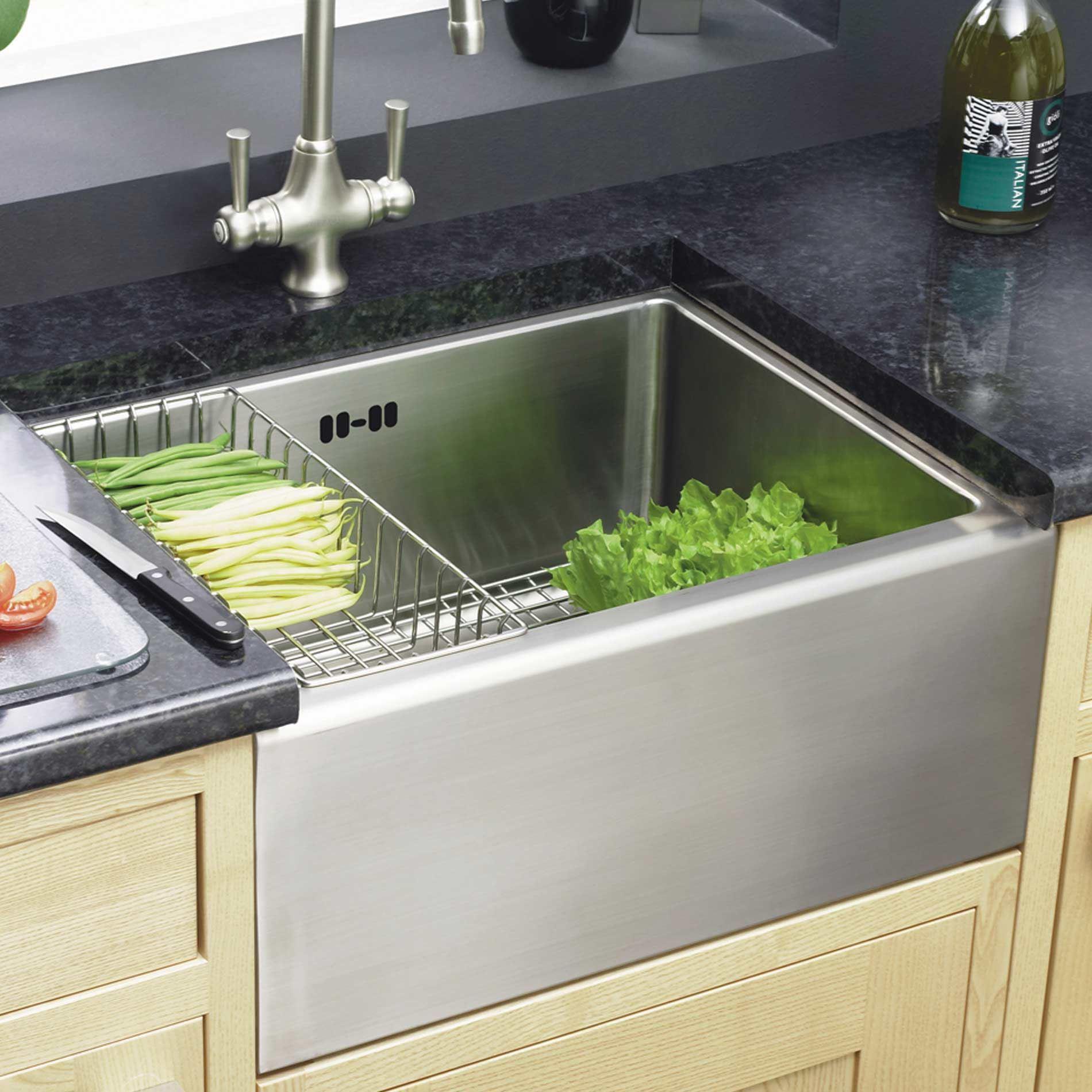 Astracast: Stainless Steel Belfast Sink Feature Pack - Kitchen ...