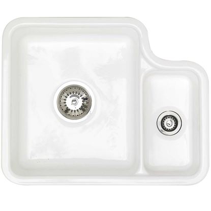 Picture of Astracast: Lincoln 1-5 White Ceramic Sink