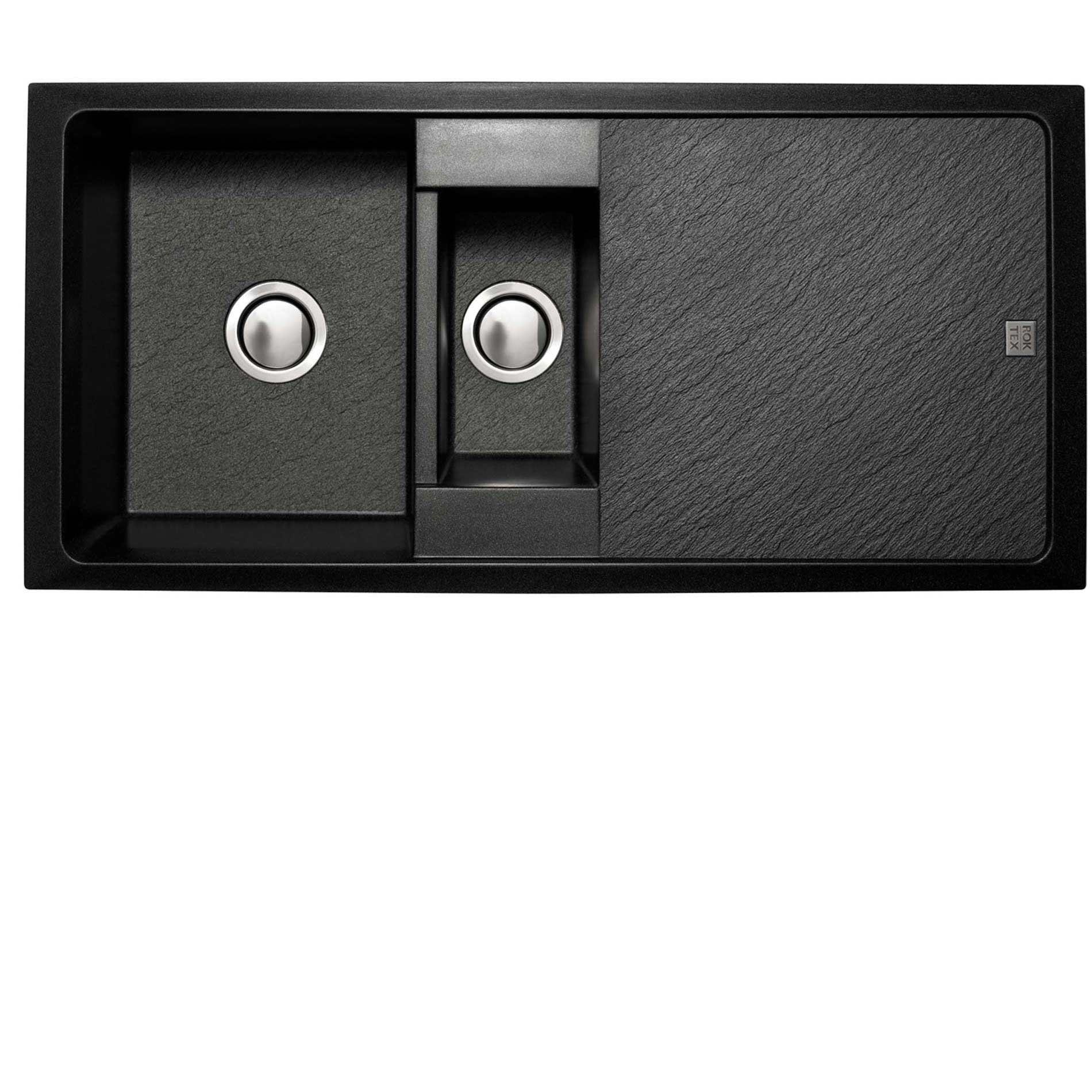 Rok Granite Sinks : Astracast: Rok Tex Contour 1-5 Granite Sink - Kitchen Sinks & Taps