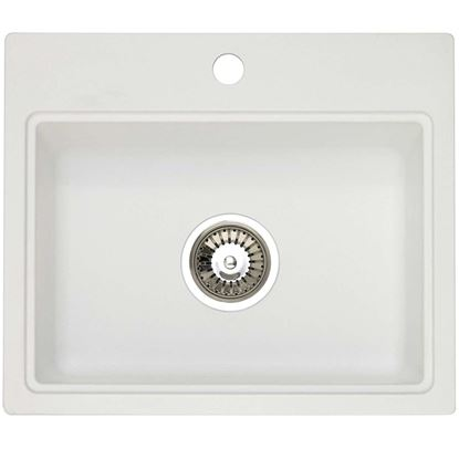 Picture of Astracast: Monza 1-0 Granite ROK Opal White Sink