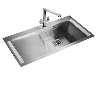 Picture of Rangemaster: Senator 1-0 SN9951 Stainless Steel Sink
