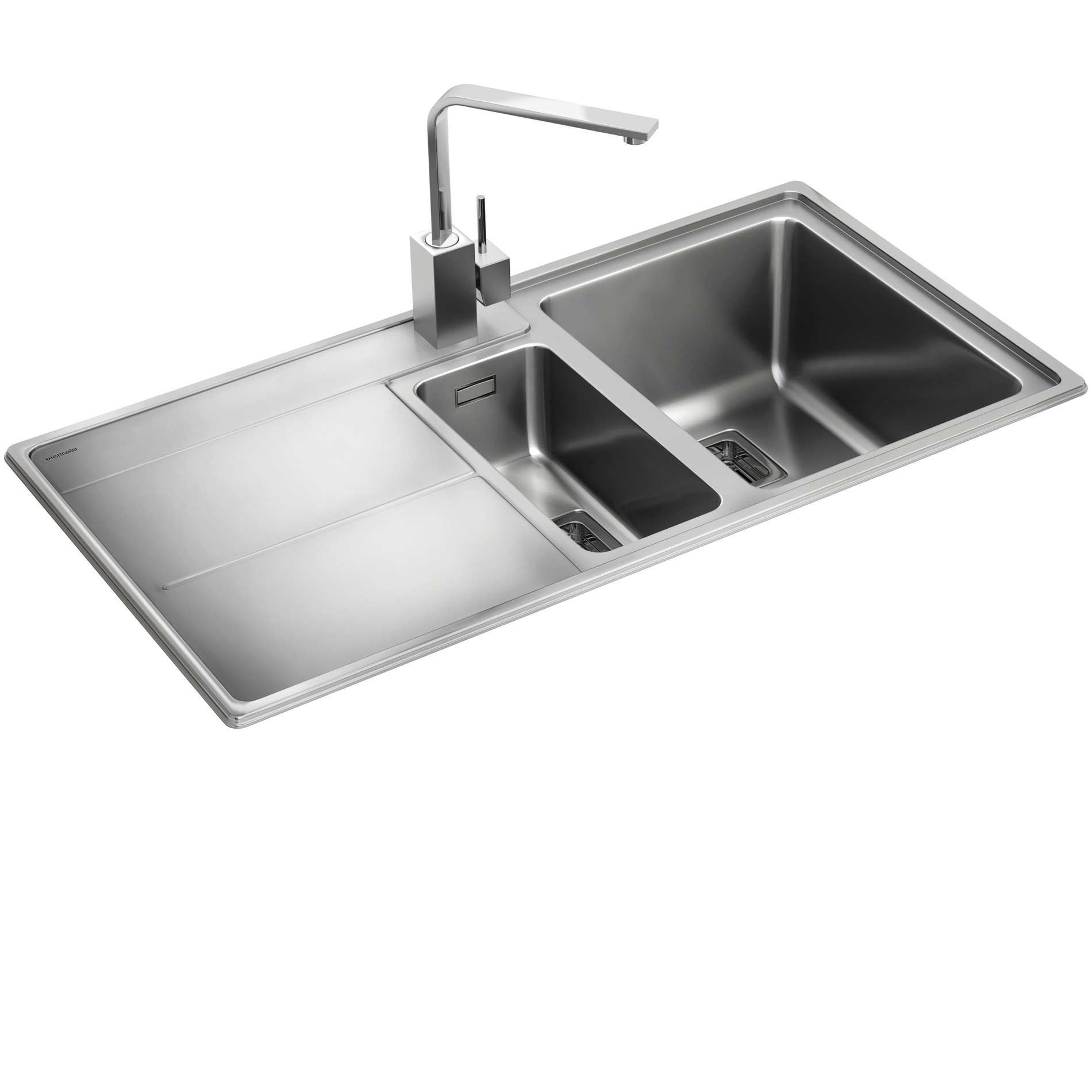 Rangemaster: Arlington AR9852 Stainless Steel Sink - Kitchen Sinks ...