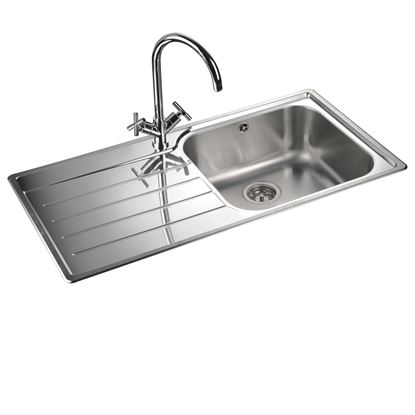 Picture of Rangemaster: Oakland OL9851 Stainless Steel Sink