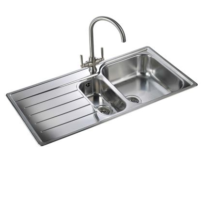Picture of Rangemaster: Oakland OL9852 Stainless Steel Sink