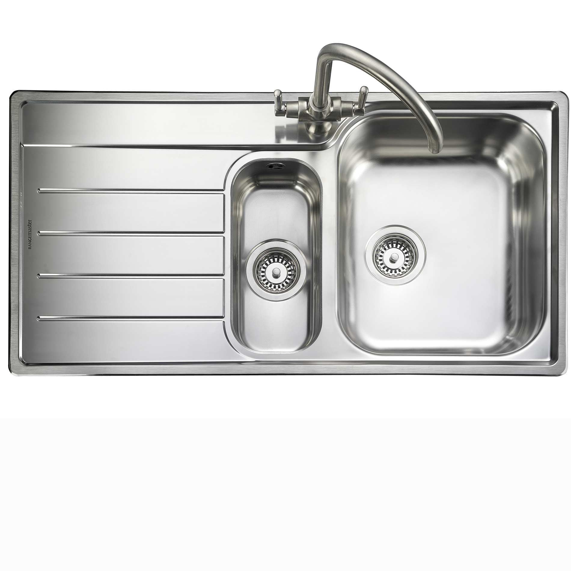 Rangemaster: Oakland OL9852 Stainless Steel Sink - Kitchen