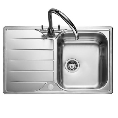 Picture of Rangemaster: Michigan Compact MG8001 Stainless Steel Sink