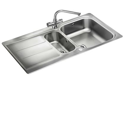 Picture of Rangemaster: Glendale GL9502 Stainless Steel Sink