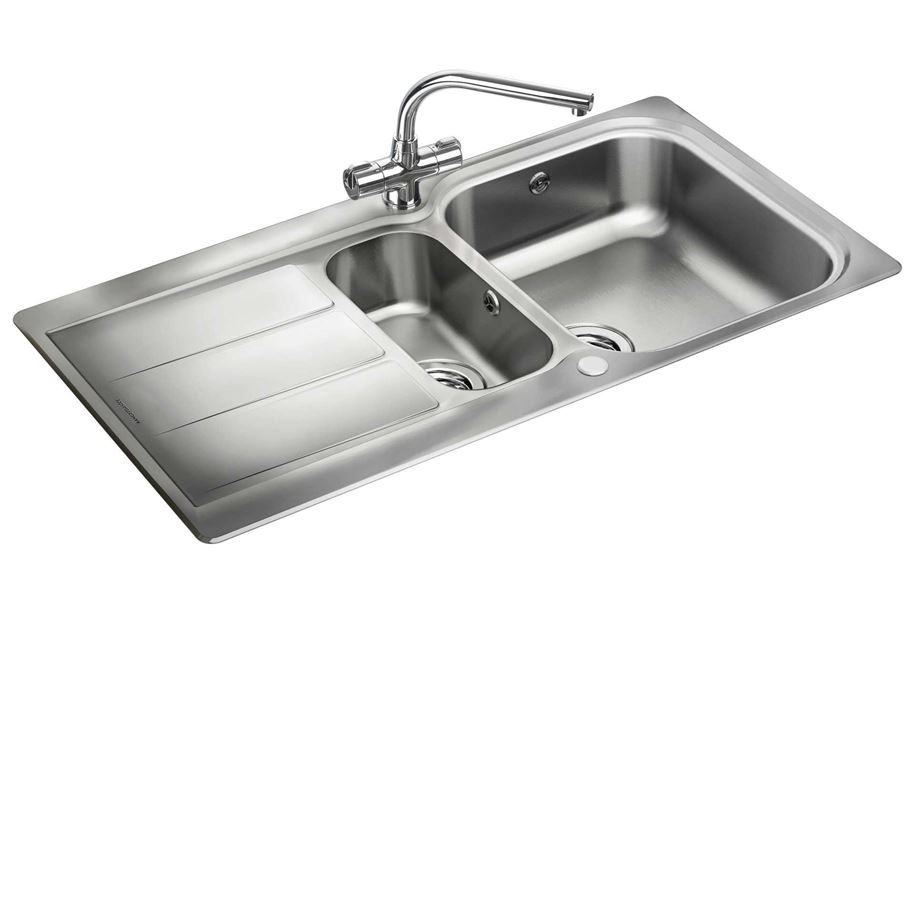 ... : Glendale GL9502 Stainless Steel Sink - Kitchen Sinks & Taps