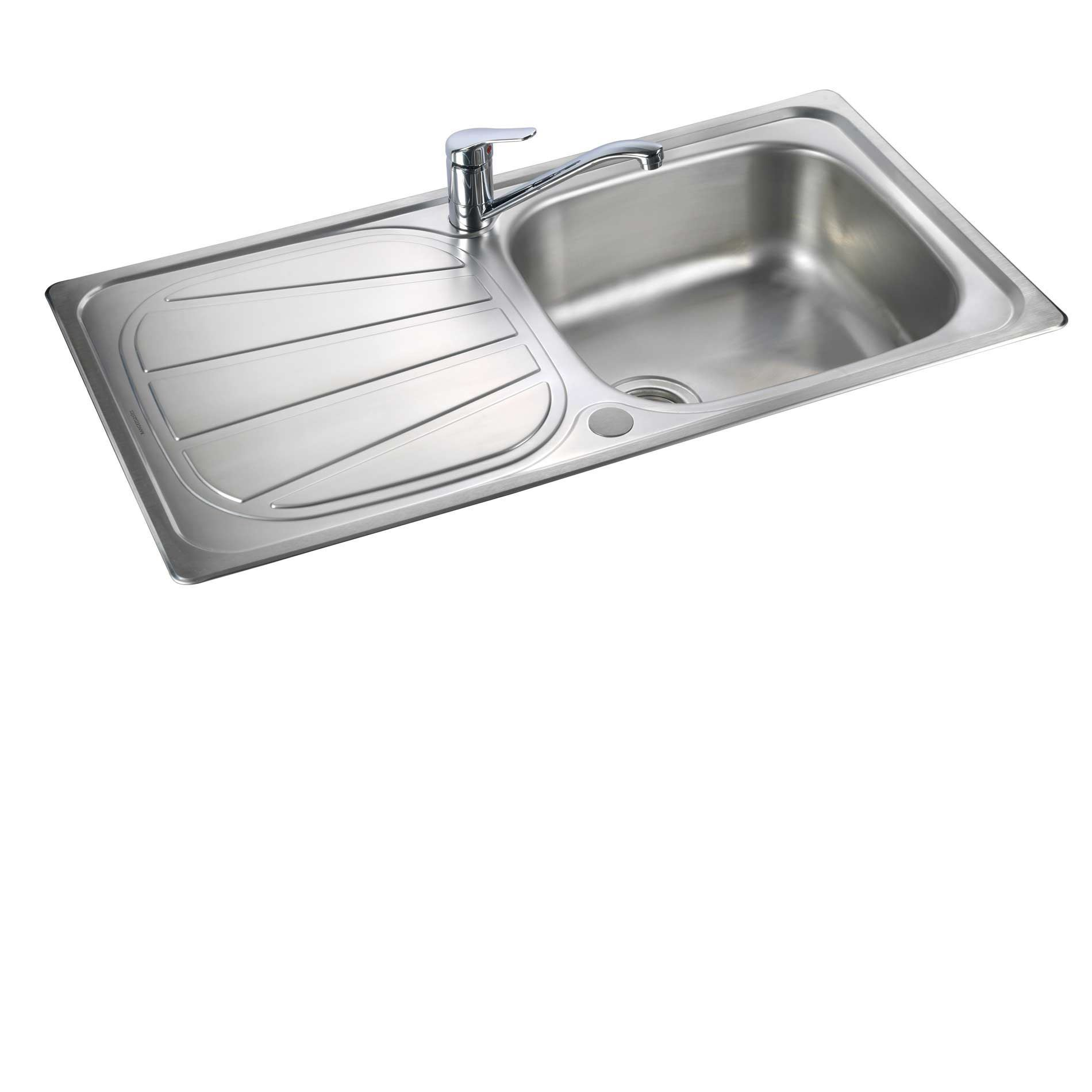 Grades Of Stainless Steel Sinks : ... : Baltimore BL9501 Stainless Steel Sink - Kitchen Sinks & Taps