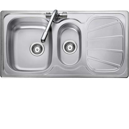 Picture of Rangemaster: Baltimore BL9502 Stainless Steel Sink