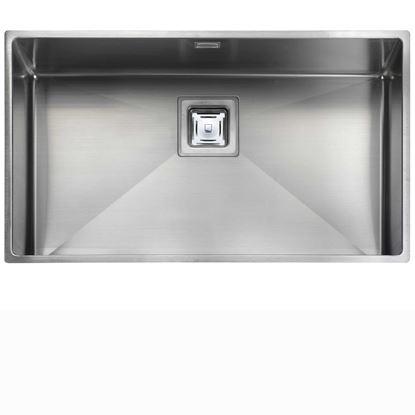 Picture of Rangemaster: Atlantic Kube KUB70 Stainless Steel Sink