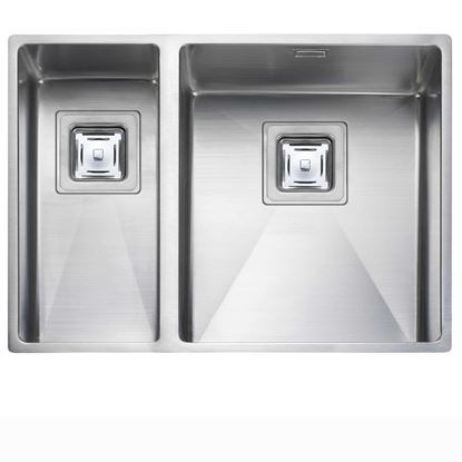 Picture of Rangemaster: Atlantic Kube KUB3418 Stainless Steel Sink