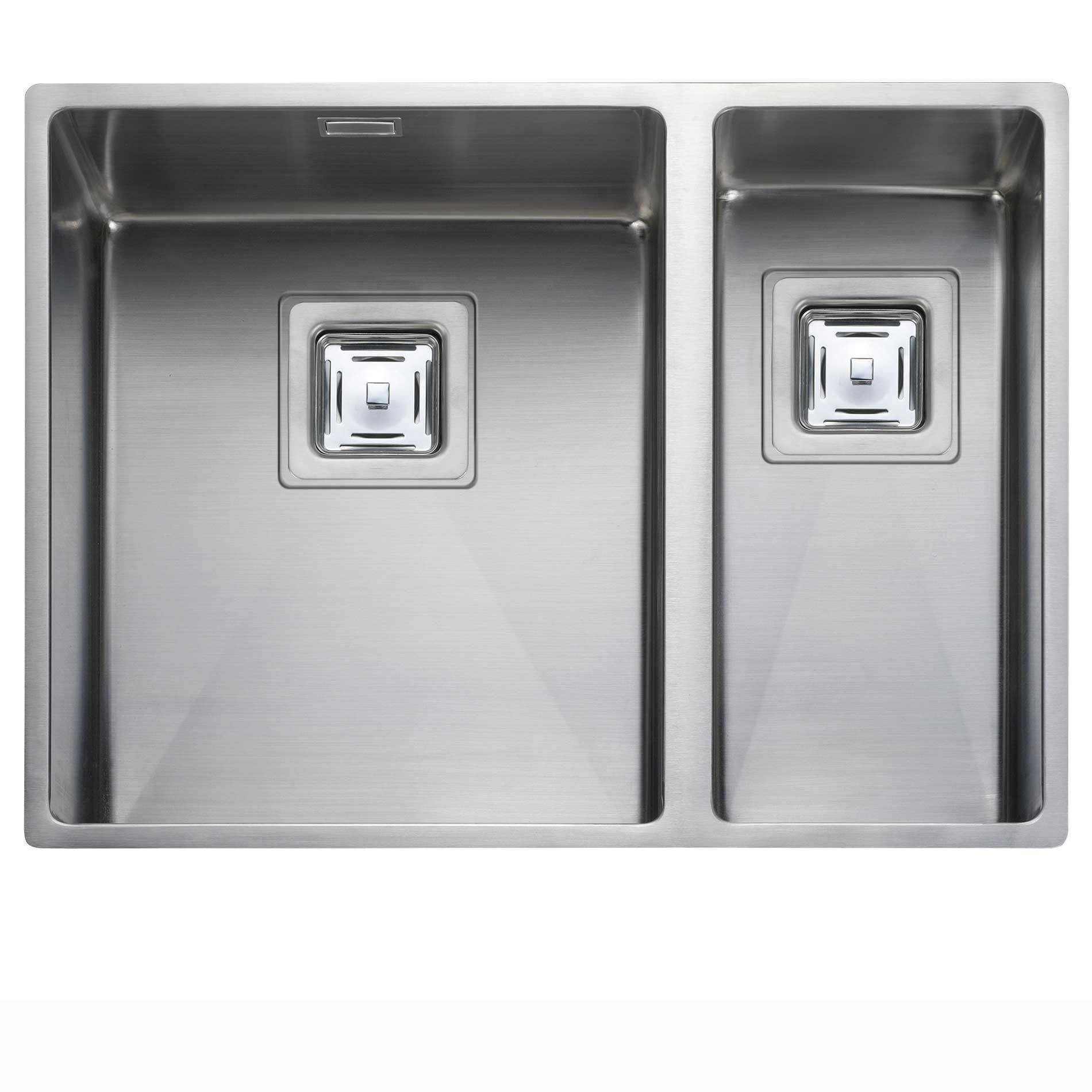 Picture Of Atlantic Kube KUB3418 Stainless Steel Sink