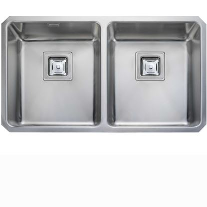 Picture of Rangemaster: Atlantic Quad QUB3434 Stainless Steel Sink