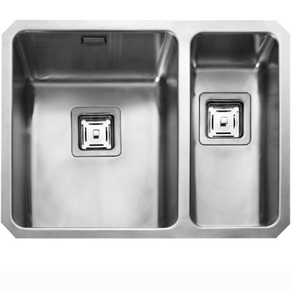 Picture of Rangemaster: Atlantic Quad QUB3418 Stainless Steel Sink