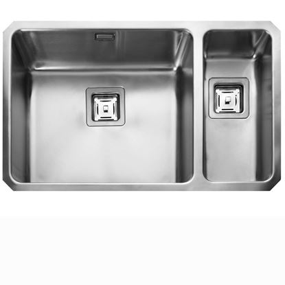 Picture of Rangemaster: Atlantic Quad QUB4818 Stainless Steel Sink