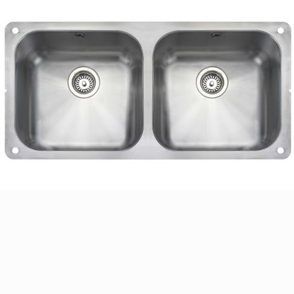 Picture of Rangemaster: Atlantic Classic UB4040 Stainless Steel Sink
