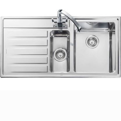 Picture of Rangemaster: Rockford 1-5 RK9852 Stainless Steel Sink