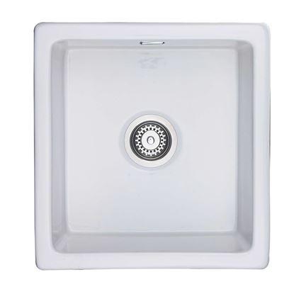 Picture of Rangemaster: Rustique CRUB4648WH Ceramic Sink