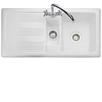 Picture of Rangemaster: Portland CPL10102WH Ceramic Sink