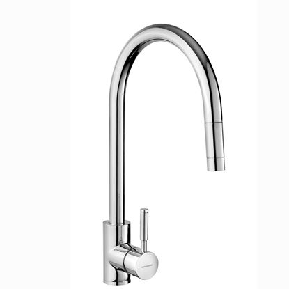 Picture of Rangemaster: Aquatrend Single Lever TRE1SLPOCM Pull Out Chrome Tap