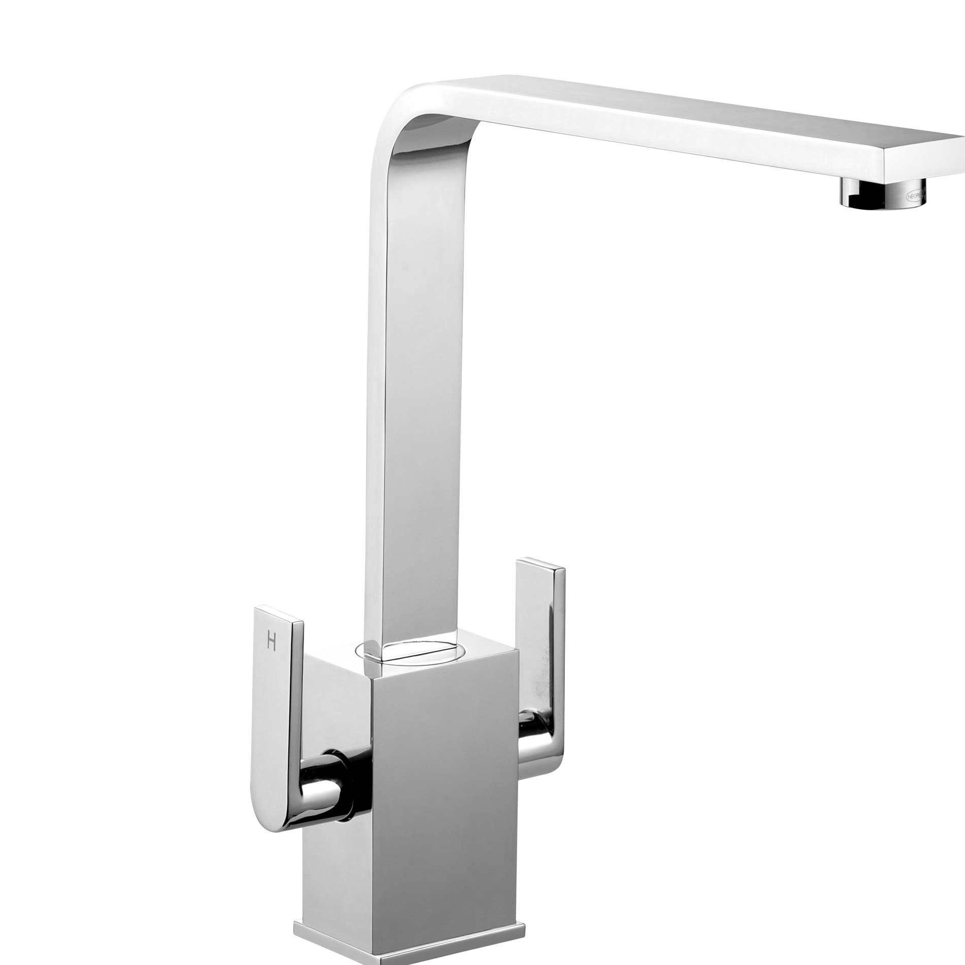 contemporary kitchen taps rangemaster quadrant contemporary tqc1cm chrome tap 2520