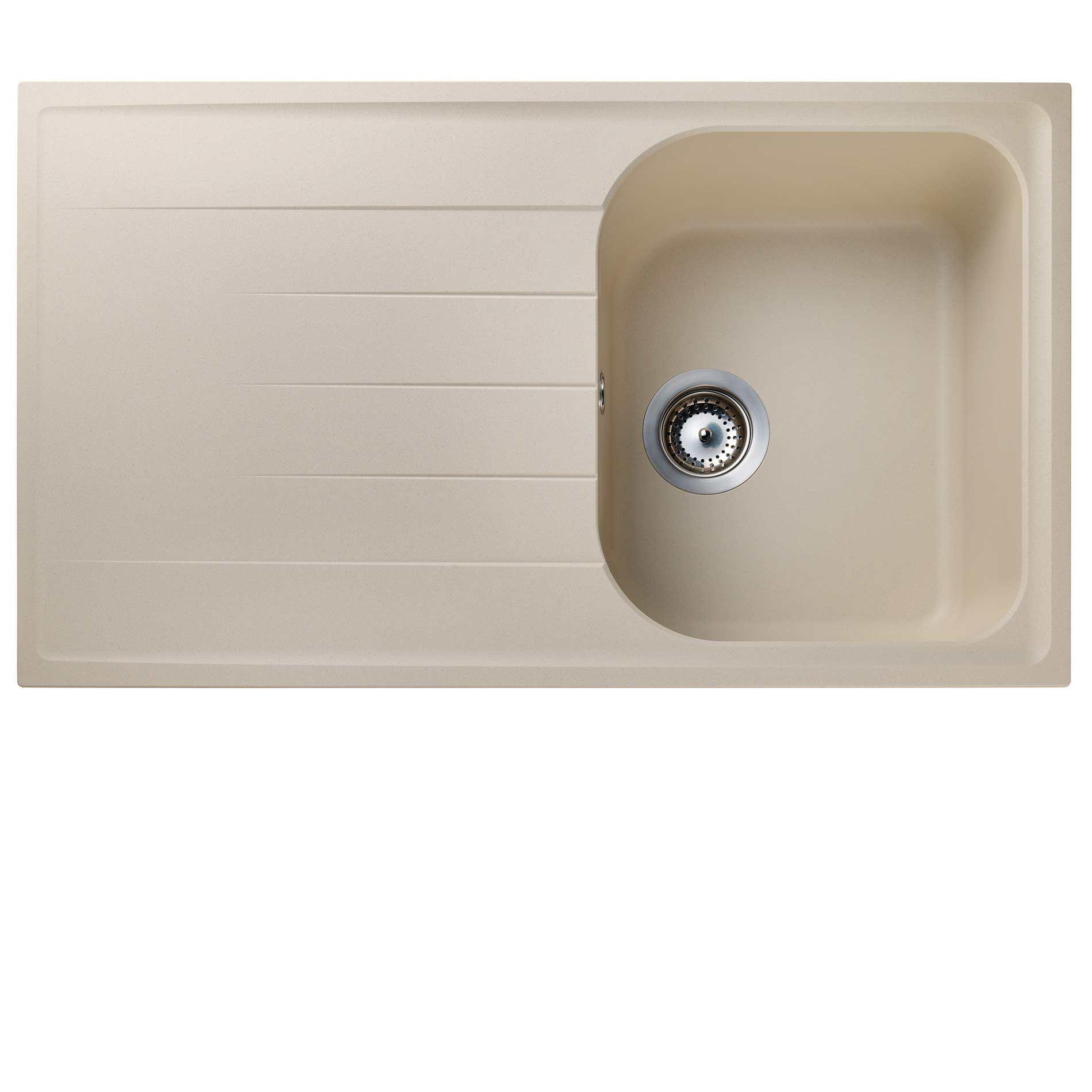 Kitchen Sinks & Taps - Rangemaster: Amethyst AME860 Stone Igneous Sink