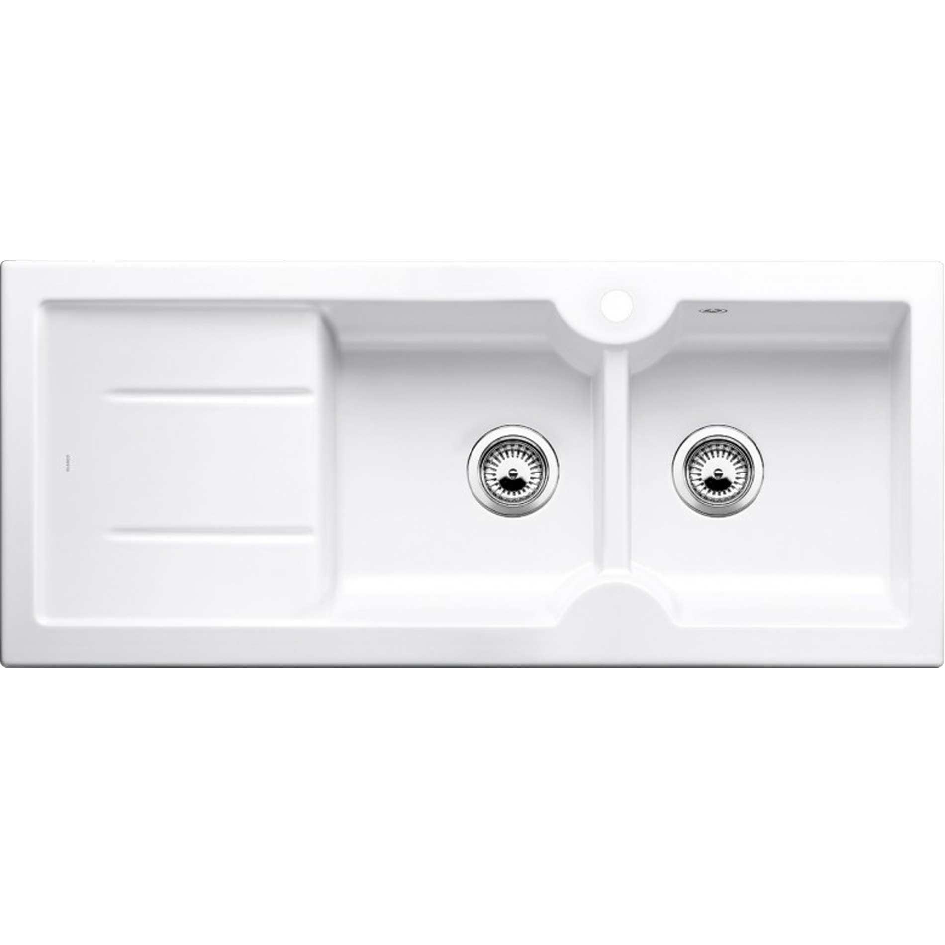 Blanco Idessa 8 S Crystal White Ceramic Sink Kitchen