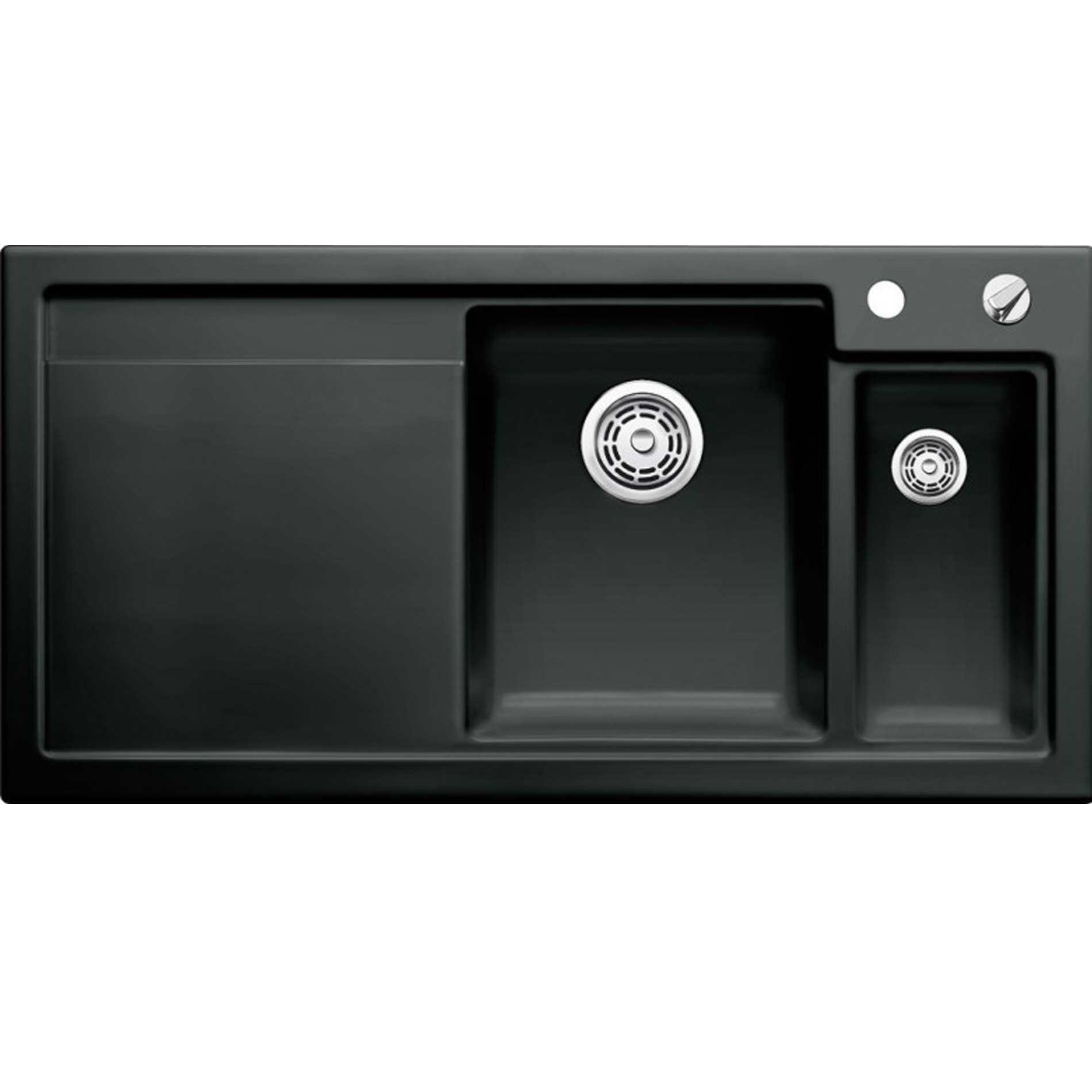 Blanco Axon Ii 6 S Black Ceramic Sink Kitchen Sinks Amp Taps