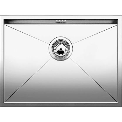 Picture of Blanco: Zerox 550-U Stainless Steel Sink