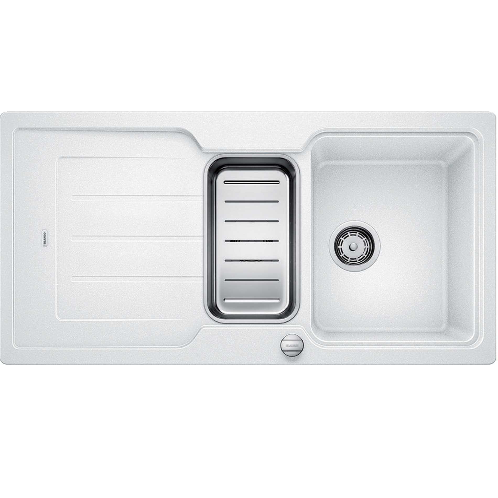 Blanco: Classic Neo 6 S White Silgranit Sink - Kitchen Sinks & Taps