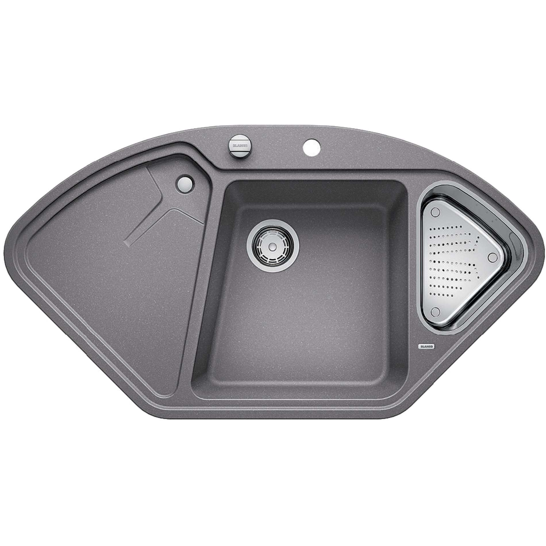 Blanco delta ii alumetallic silgranit sink kitchen for Silgranit ii sinks
