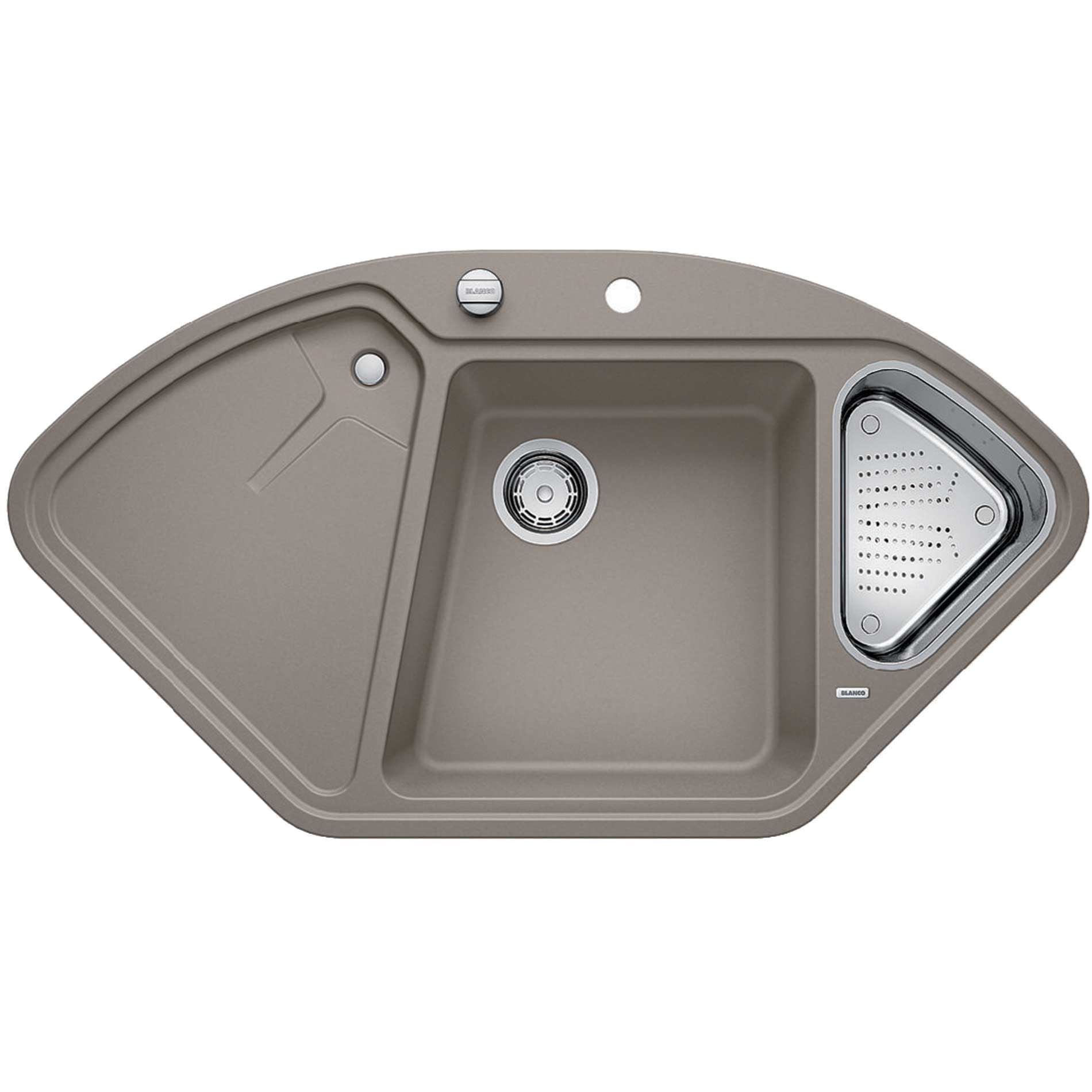 Blanco delta ii tartufo silgranit sink kitchen sinks taps for Silgranit ii sinks