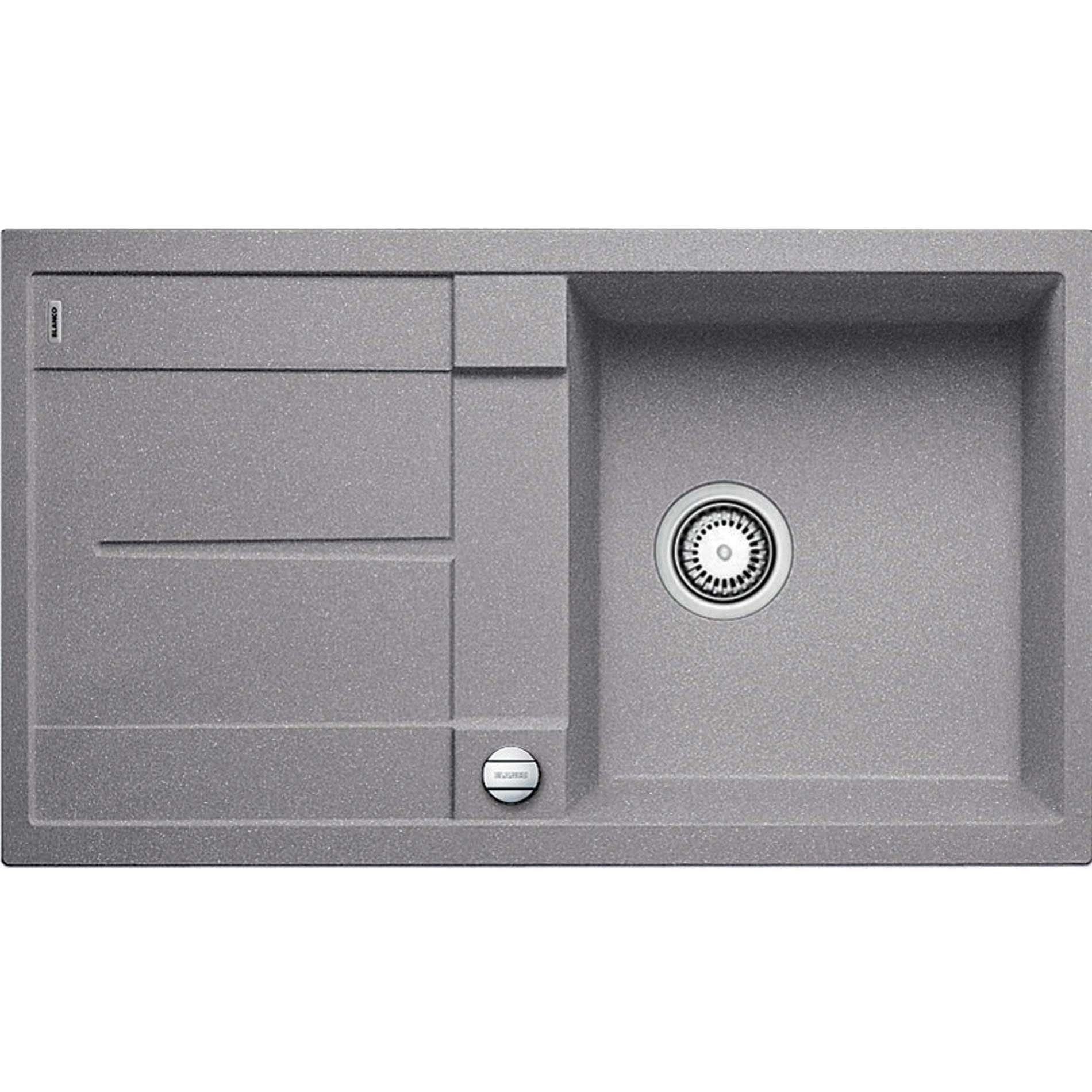 Blanco Metra 5 S Alumetallic Silgranit Sink Kitchen Sinks Taps