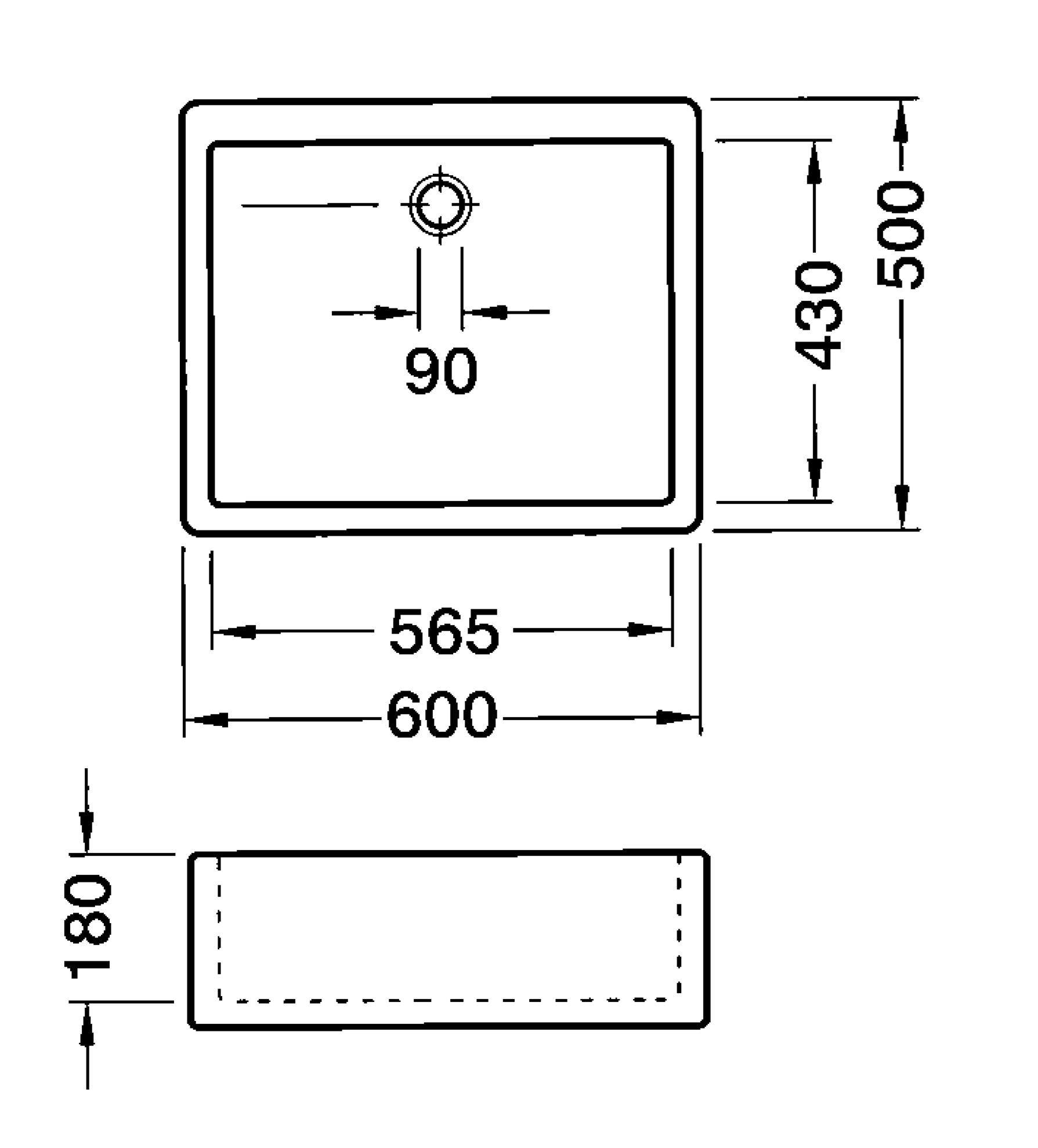 Villeroy & Boch: Farmhouse 60 Ceramic Sink 6322 - Kitchen Sinks & Taps