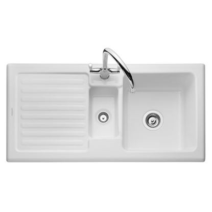 Picture of Rangemaster: Rustic CRT10202WH Ceramic Sink