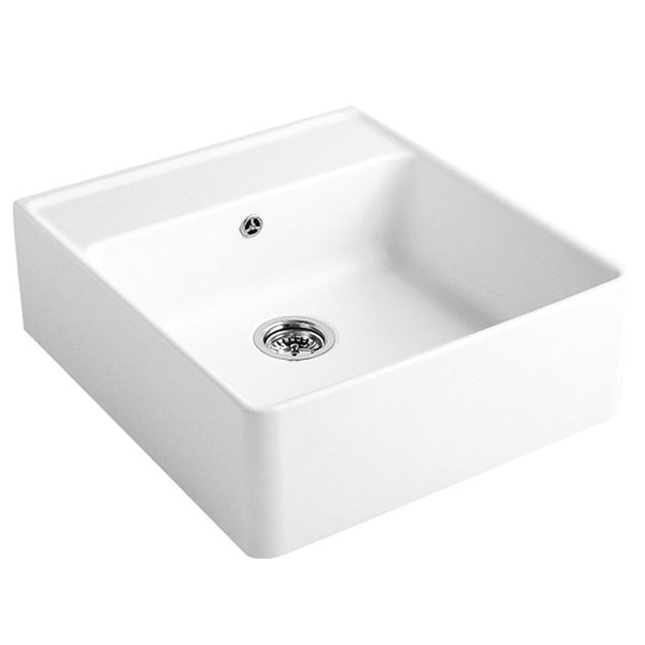 Villeroy Amp Boch Butler 60 1 0 Bowl Ceramic Sink Kitchen