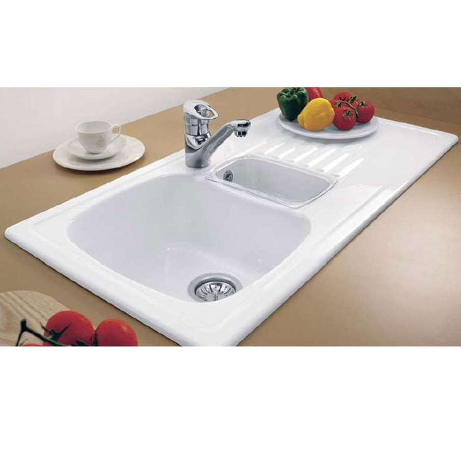 Villeroy Amp Boch Medici 1 5 Bowl Ceramic Sink Kitchen