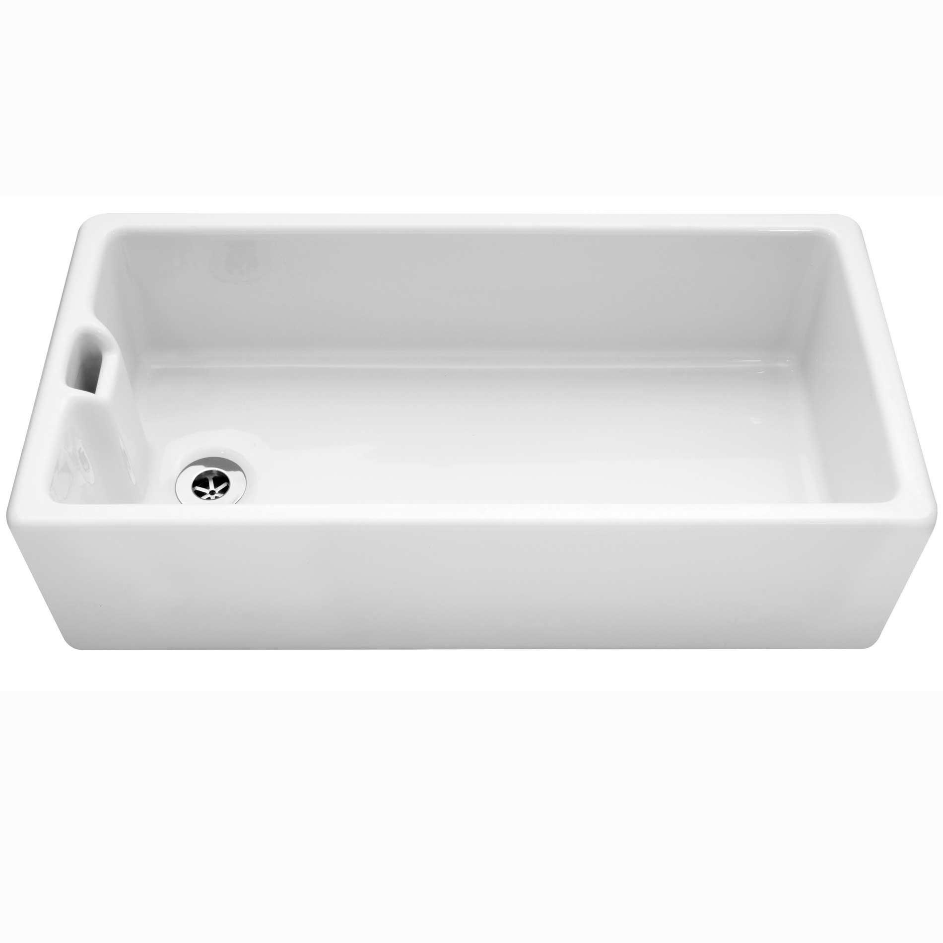 Caple Belfast 915 Ceramic Single Bowl Sink Kitchen