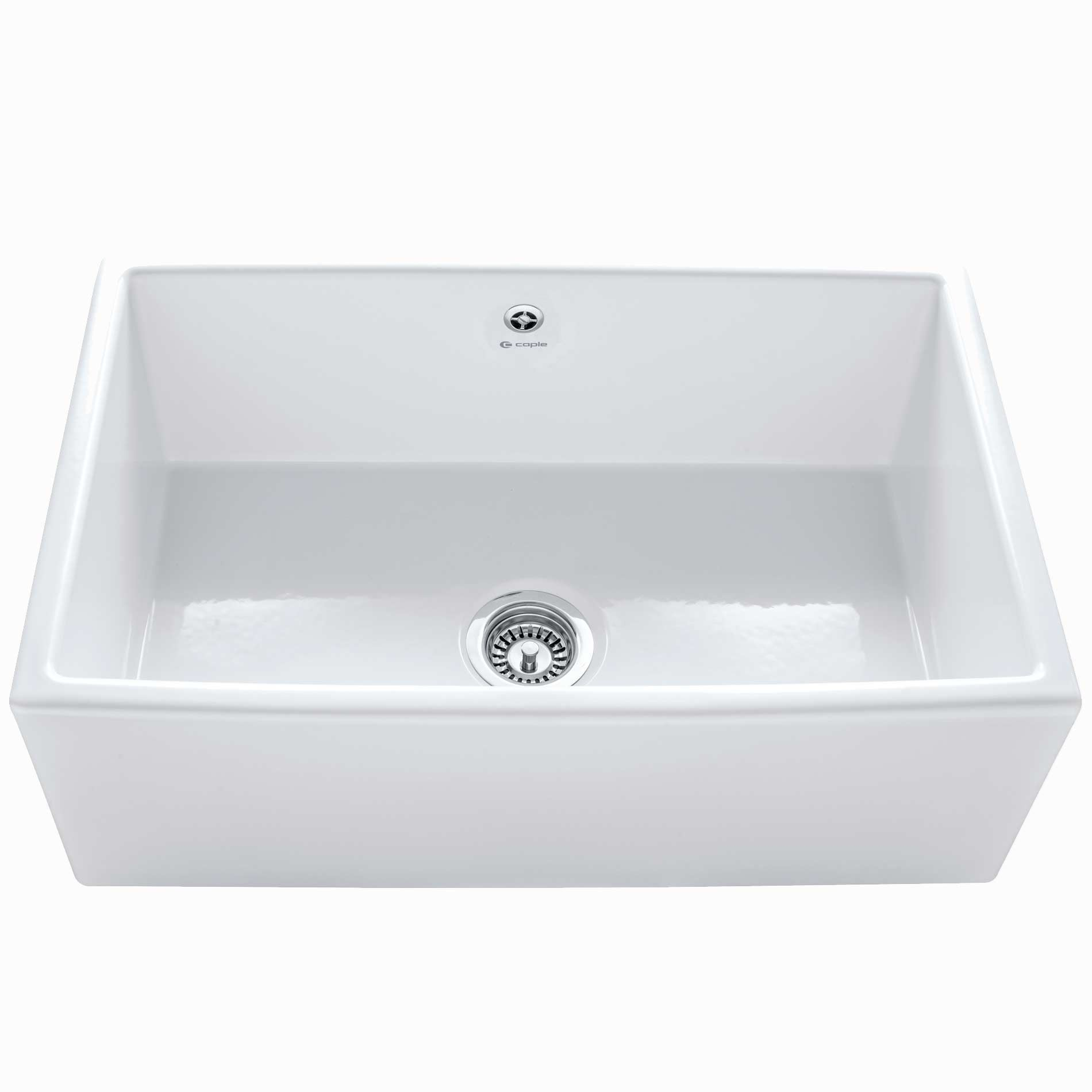 Ceramic Farmhouse Sink : Caple: Farmhouse 762 Ceramic Sink - Kitchen Sinks & Taps