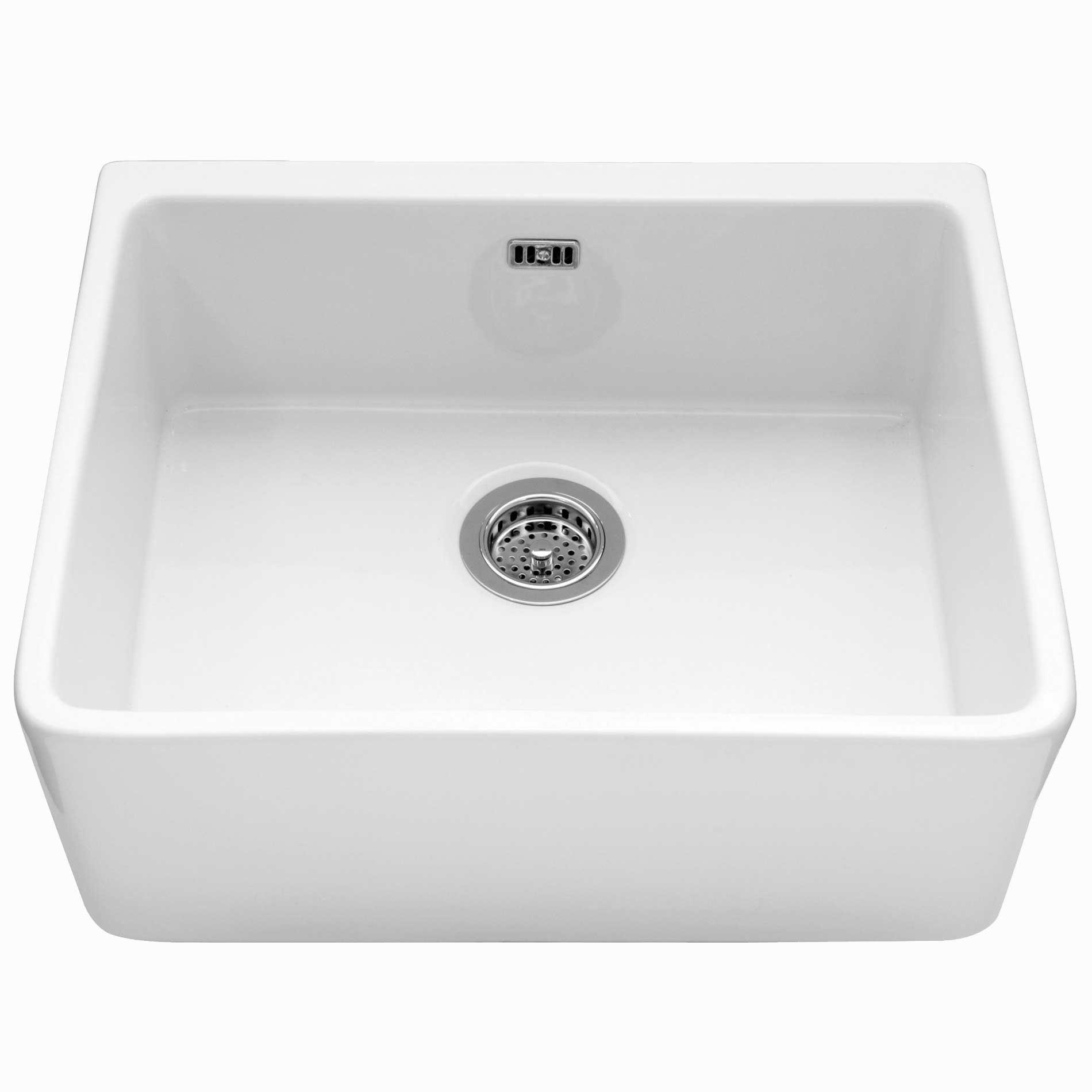 Caple Yorkshire Ceramic Single Bowl Sink Kitchen Sinks Taps