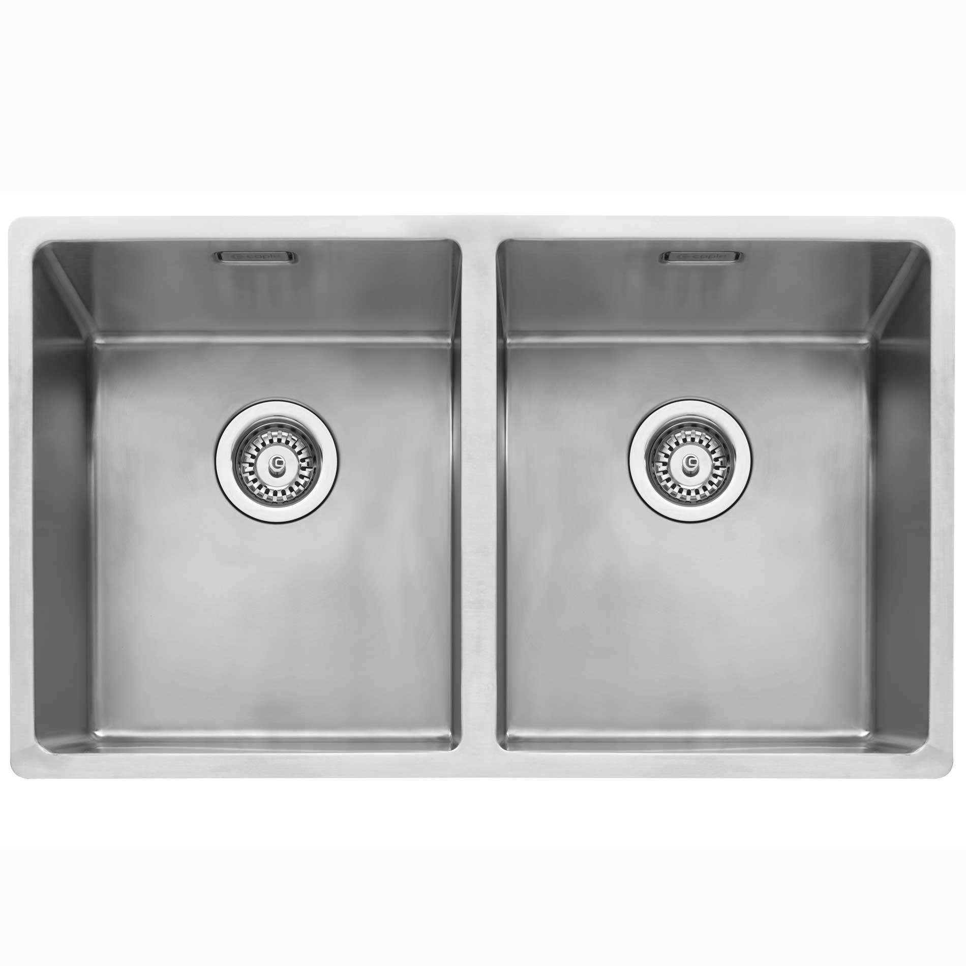 Caple mode 3434 stainless steel sink kitchen sinks taps for 200mm wide kitchen unit