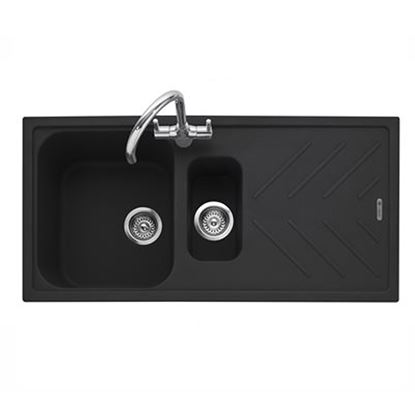 Picture of Caple: Veis 150 Anthracite Granite Sink