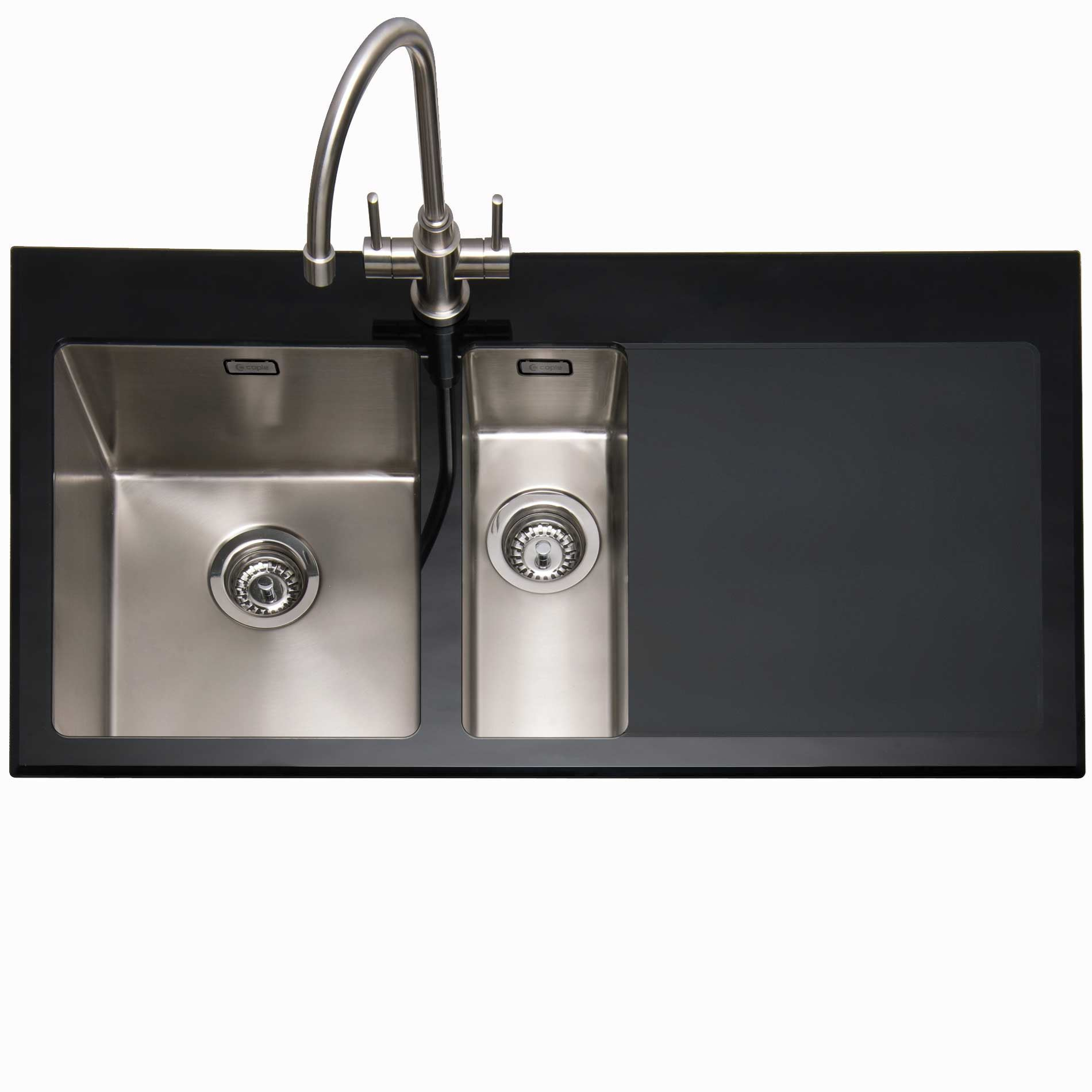 black stainless sink stainless steel apron sink. Black Bedroom Furniture Sets. Home Design Ideas