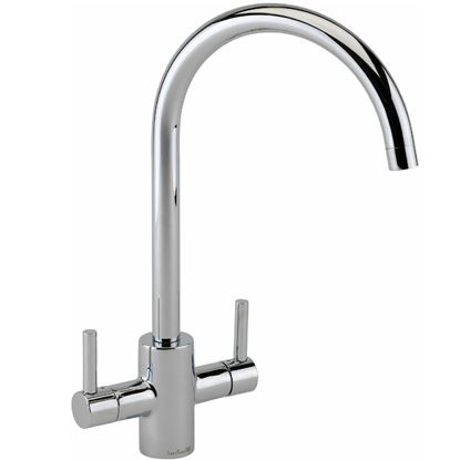 Picture of Reginox: Genesis Chrome Tap With Chrome Handles