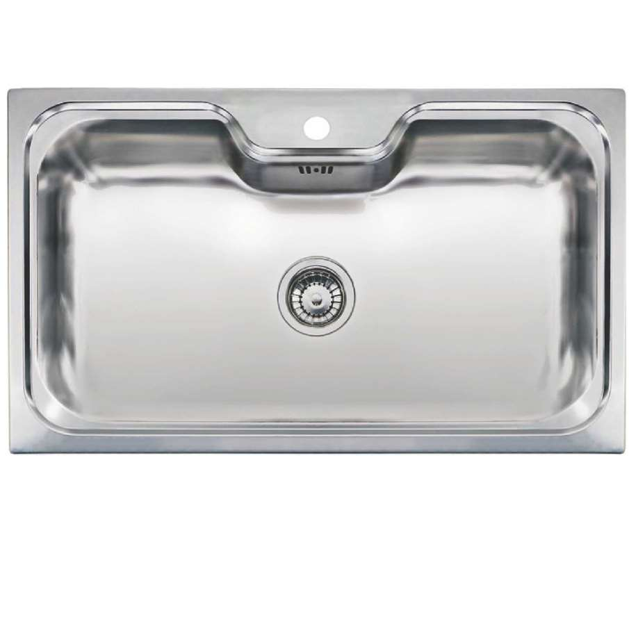 Kitchen Sinks & Taps - Reginox: Jumbo Single Bowl Stainless Steel Sink