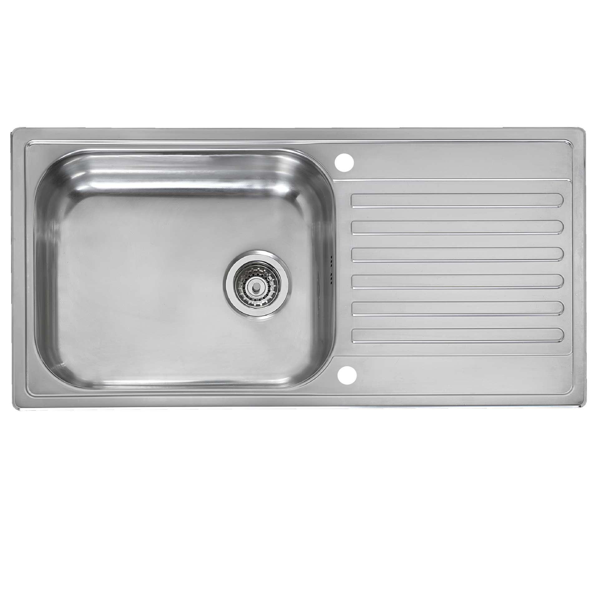 Reginox: Minister Reversible Stainless Steel Sink - Kitchen Sinks ...